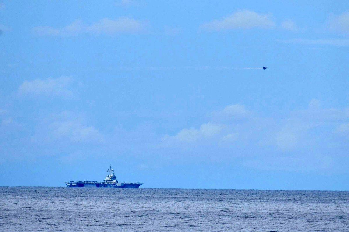 【平成31年度インド太平洋方面派遣訓練(IPD19)】5月19日、日仏豪米共同訓練をスマトラ島の西方海空域において、開始しました。仏豪米は、「自由で開かれたインド太平洋」の実現に向けて協力するパートナーであり、これらの国々との共同訓練の実施は、海洋秩序の維持・強化に貢献するものです。