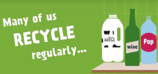 #Recycle #glassrecyling #bottlebank #MondayMotivation