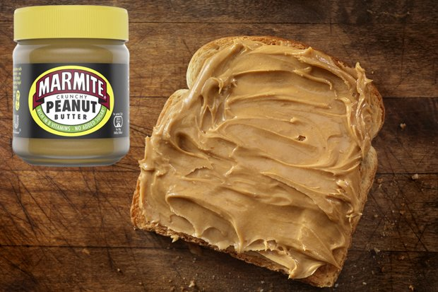 Marmite Peanut Butter BLASTED by shoppers: Its two evils in one jar dailystar.co.uk/real-life/7800…