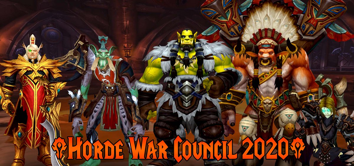 Best Horde Server 2020.Holiday Shorties On Twitter More More A War Council