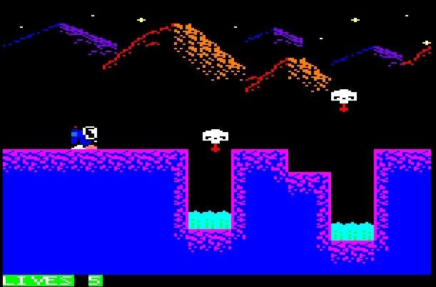 Aeon part 1 by Sunteam, ported on Amstrad CPC by Vincent GR