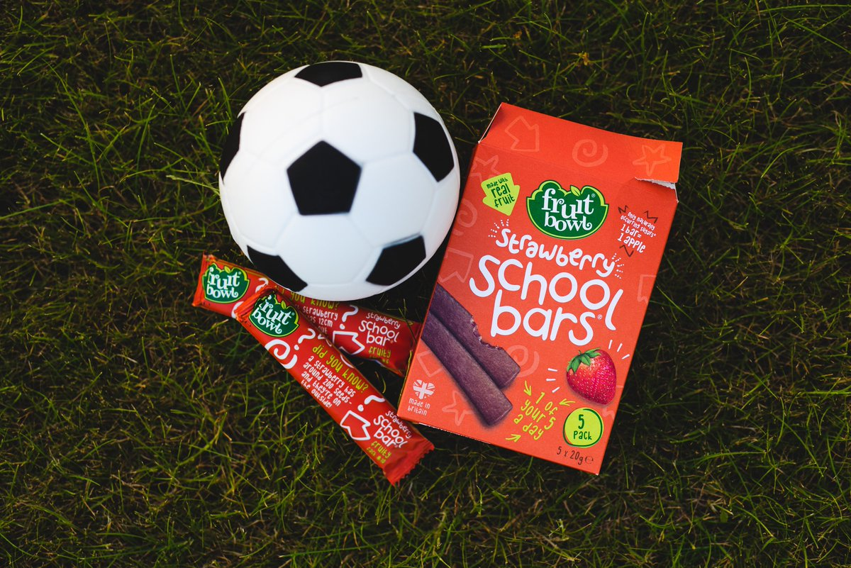 It's National Walk To School Week! Our fruit snacks are perfect for an early morning energy boost ⚽ #FruitMadeFun