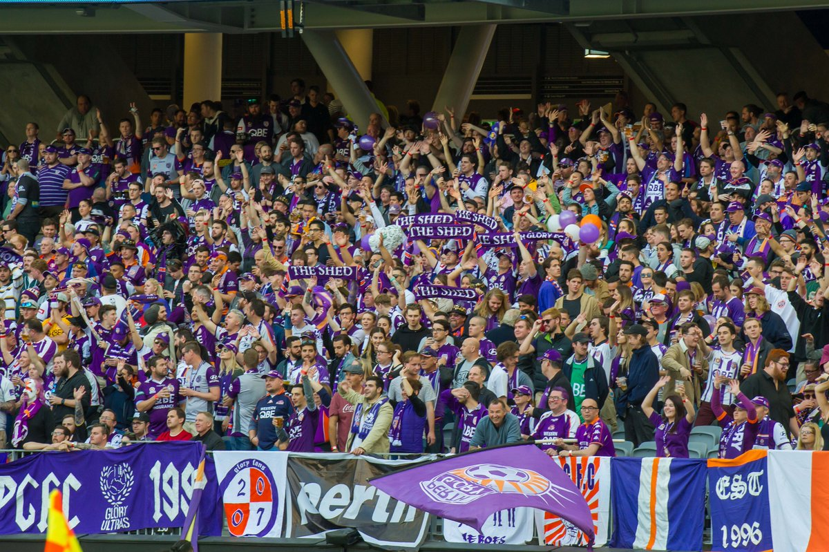 How good was the shed last night? @TheGloryPost @TheGloryCentral @GloryFansUnited @PerthGloryFC @Farpostperth @PerthGloryNews @TheGloryGuerill @TheGloryArmy
