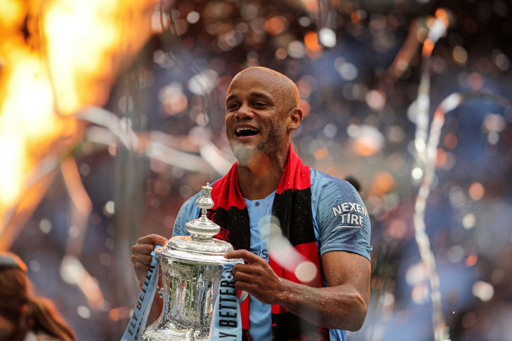 Vincent Kompany has called time on his Man City career. But where does he rank among the Premier Leagues greatest leaders? Choose your order 👉 bbc.in/2EiDSfb