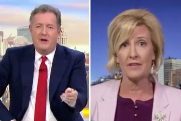 .@piersmorgan RINSED a pro-life supporter in a very heated debate on #gmb today 😱 dailystar.co.uk/showbiz-tv/hot…