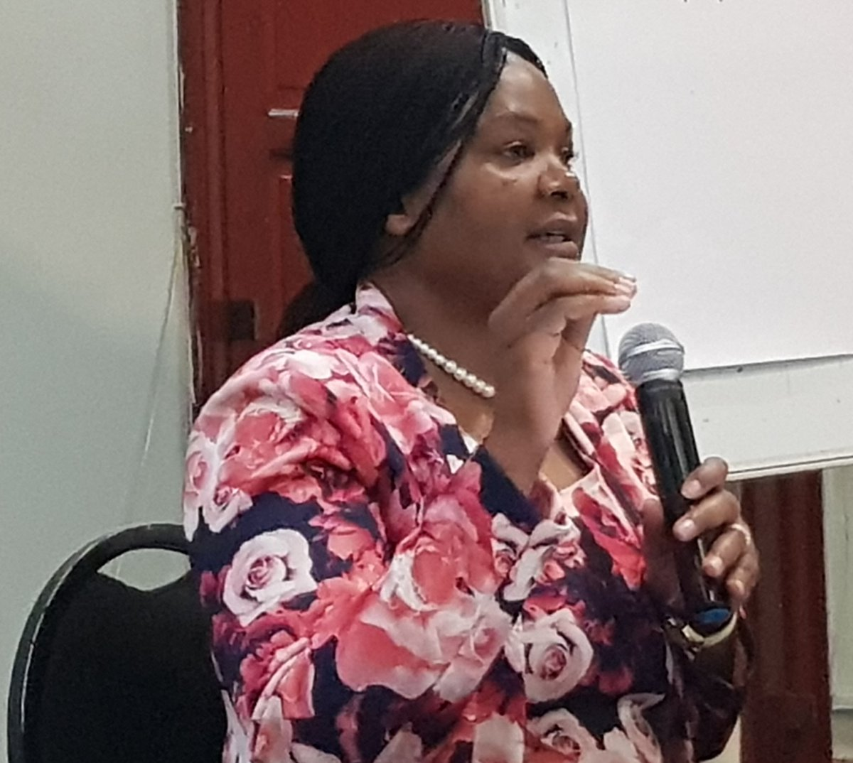 #MakanatsaMakonese of #Arisa opens a 4day #MediaFreedom &amp; #DigitalRights training in #Lusaka #Zambia and says #women are still being blocked in accessing land becoz of old #laws<br>http://pic.twitter.com/9adClU1pOd