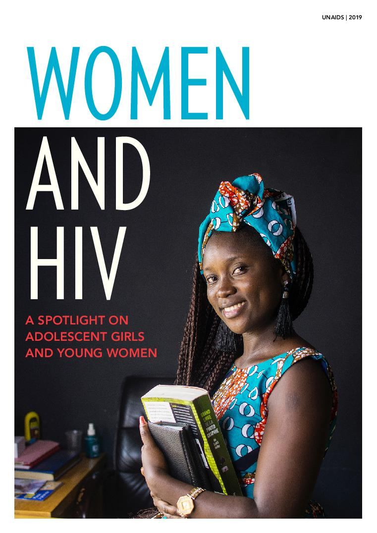 Adolescent girls and young women are still disproportionally affected by #HIV. If you have not yet read our publication from this year&#39;s #IWD &quot;Women and HIV — A spotlight on adolescent girls and young women&quot;, find it here:  http:// ow.ly/CoSt50u6aLJ  &nbsp;    #ImWithHer #IWD2019 #EndHIV<br>http://pic.twitter.com/EdIz6QmNPd