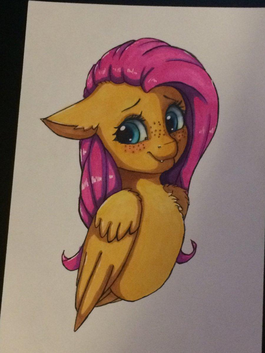 Finish product of painting the fluttershy.  @Taurson<br>http://pic.twitter.com/ps3mLzEzBU