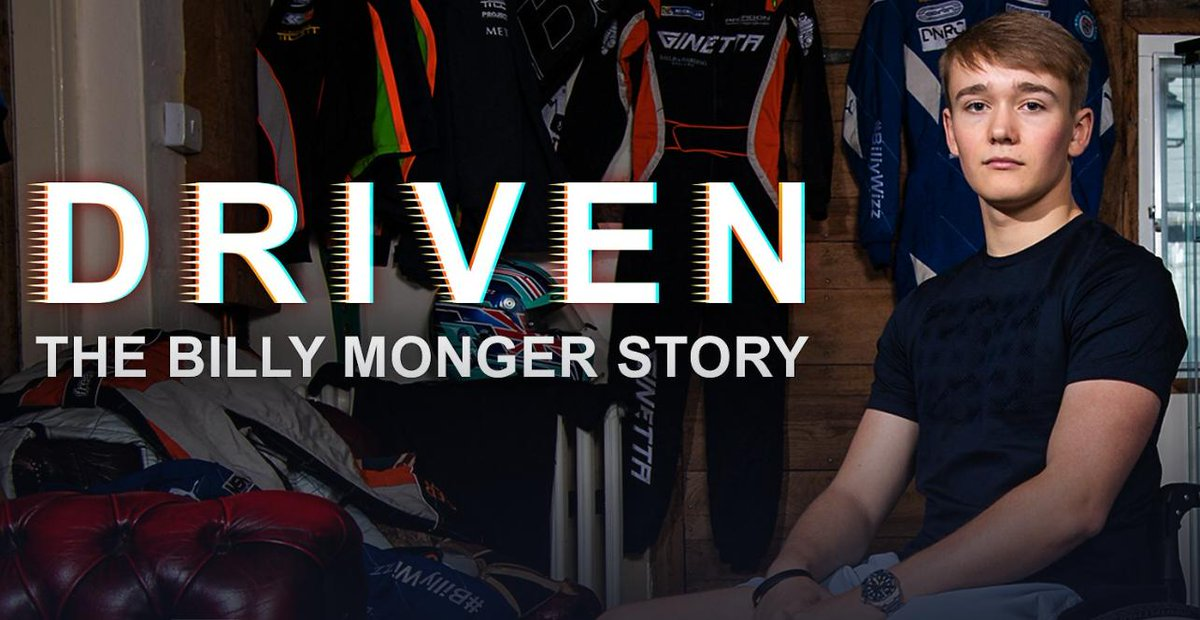 Driven: The Billy Monger Story Catch up on @BBCiPlayer 👉 bbc.in/2Trlab7