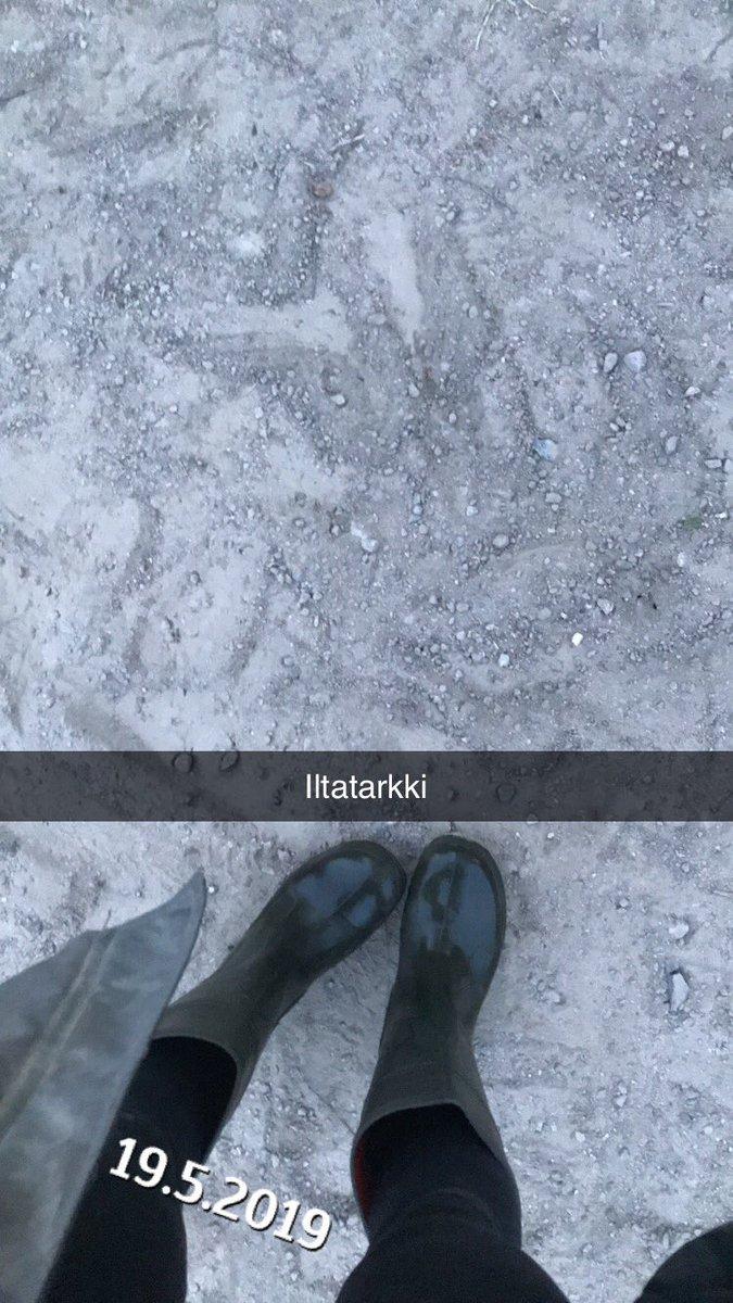Hetken vilkaisulla.. näyttäis et seison jäällä... mut ei seison Torholassa kuivalla saharahiekalla😂 Viikko sitten satoi, helpotti pikkuisen🙏🏻 Mut kyl kuivaa nopeesti maa takaisin samaan kuivuuteen😳 #torhola #maitotila