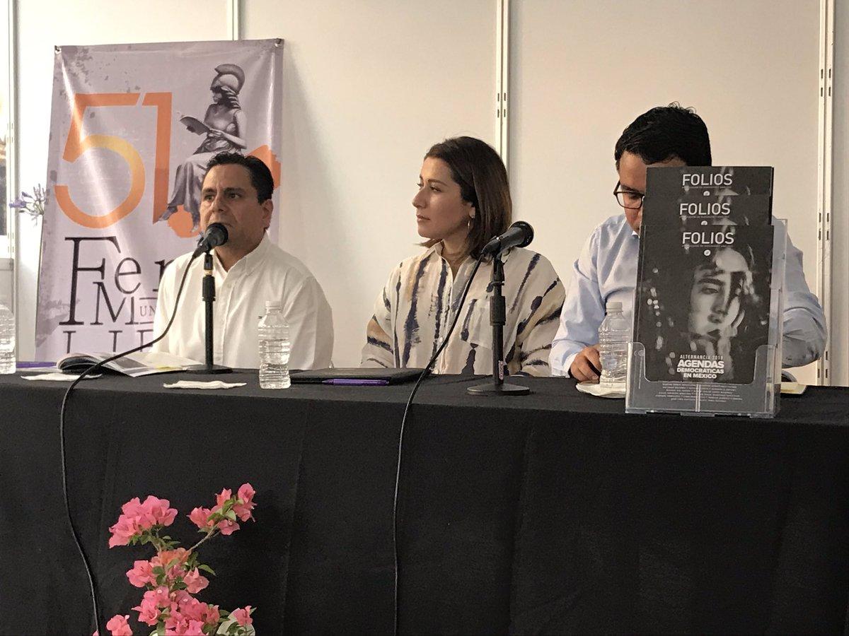 .@PerezVega_moy habla s/nuestra @RevistaFolios. Recuerda que nació como una necesidad de deliberar sobre la consolidación de la democracia https://t.co/kJyqQ2zI1K