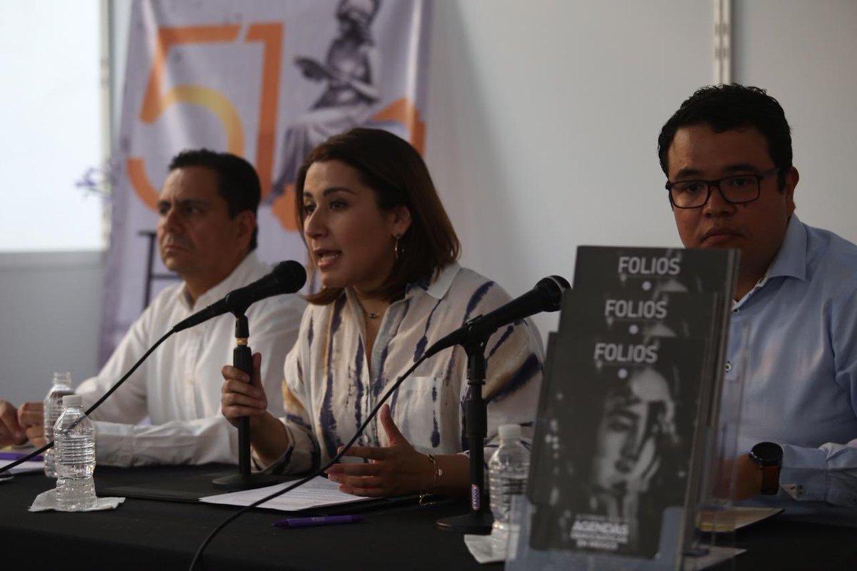 La @RevistaFolios es parte de las actividades del @iepcjalisco para promover una cultura democrática. Este proyecto nació desde hace ya trece años con el interés difundir de forma plural, diferentes temas de la agenda pública y ponerlos al alcance de los ciudadanos. https://t.co/9aKnBLcTqM