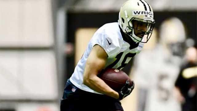 Newark alum Micah Wright takes shot at NFL during New Orleans Saints rookie minicamp