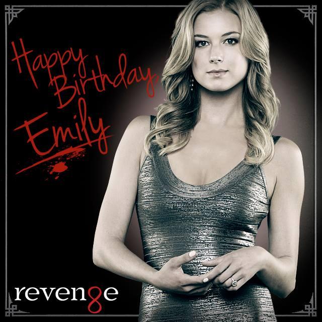 Happy Birthday to the lovely Emily VanCamp!