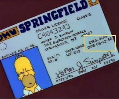1) Happy Anniversary to my parents!  2) Happy Mother s Day to the moms out there   3) Happy Birthday Homer Simpson