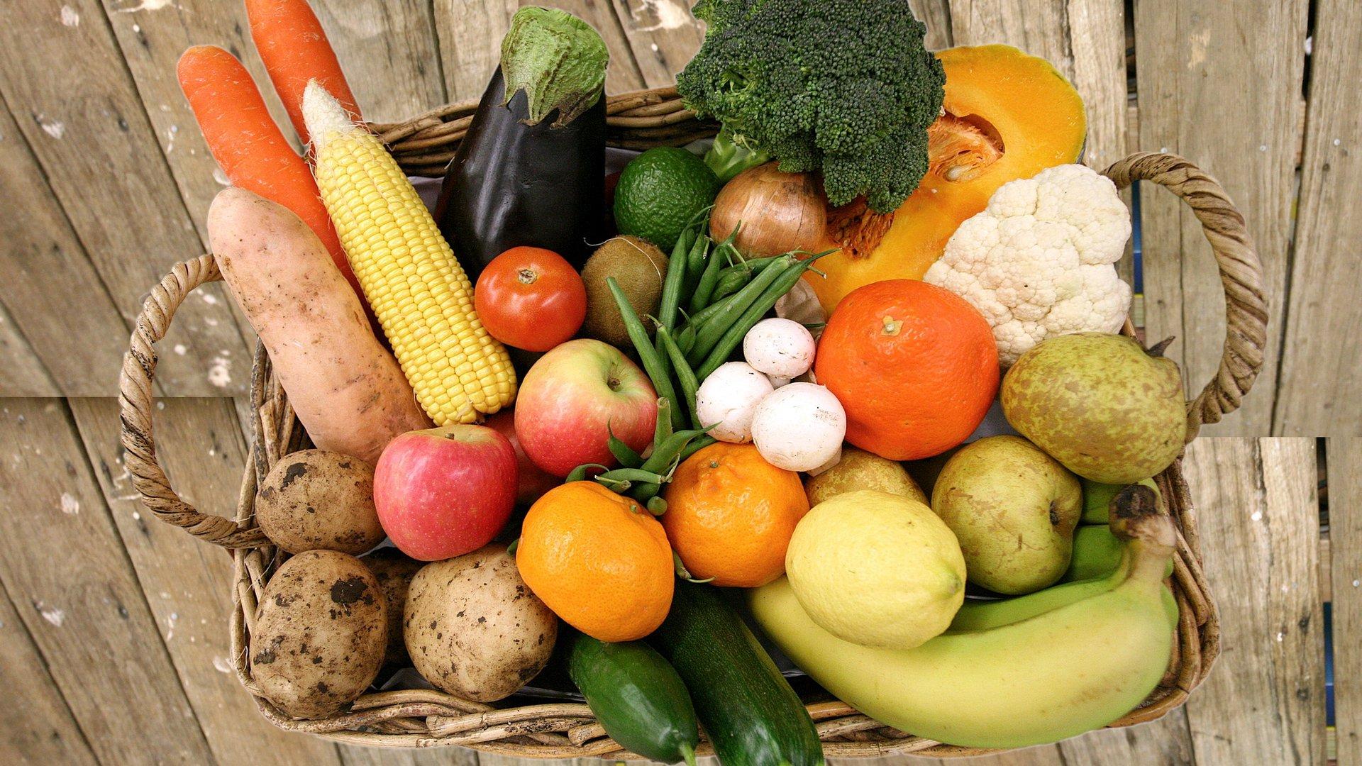 Картинки еды овощи фрукты