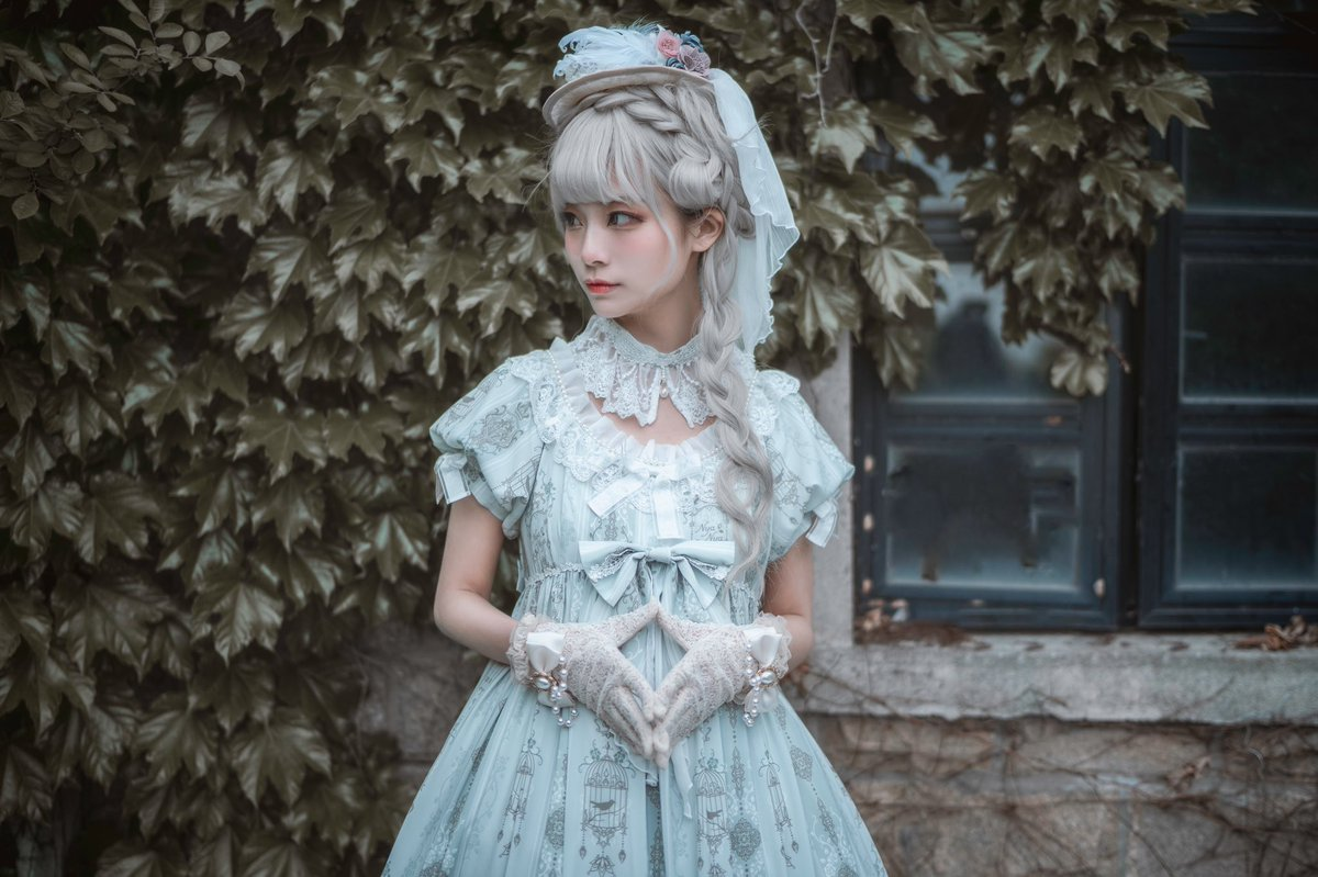 #lolitafashion  優しい色 みどり(翠)(^◡^ )  📷@moukuda_WGJ