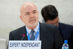 """""""#Mongolia must ensure that reforms to its legal framework promote rather than restrict the work of human rights defenders,"""" -- the @UN Special Rapporteur on the situation of #HumanRights defenders, Michel Forst:  https://is.gd/U5wbZi"""
