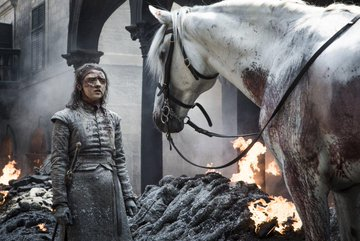 Fans Spot That Girl Arya Tried To Rescue Was Holding A White Horse