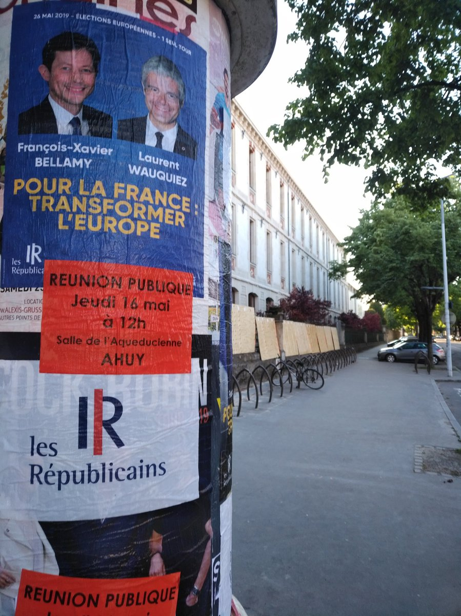 Bravo à nos militants actifs sur tous les terrains en Côte-d'Or pour @LReurope2019 @fxbellamy ! Rdv ce jeudi 16 mai, 12h, salle l'Aqueducienne à Ahuy 🇪🇺🇫🇷 #Européennes2019