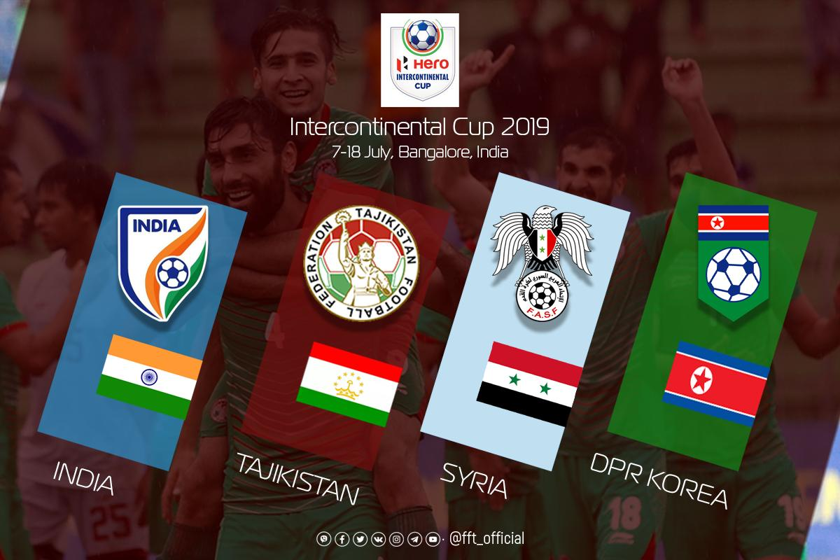 India will face Tajikistan, Syria, and DPR Korea in the tournament set to begin in July