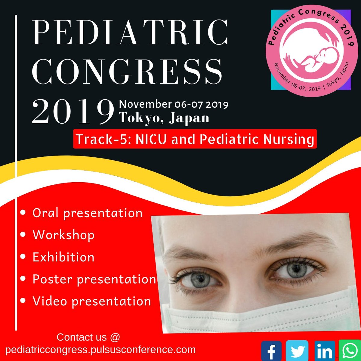 6dd22b8b6a0 #pediatriccongress2019 hashtag on Twitter