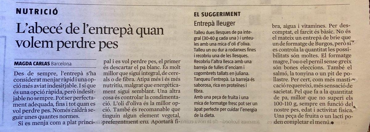 test Twitter Media - RT @rosa_tanti: .@bonblat #Nutrició @xeviverdaguer @etselquemenges https://t.co/Q6Lv6YcEv2