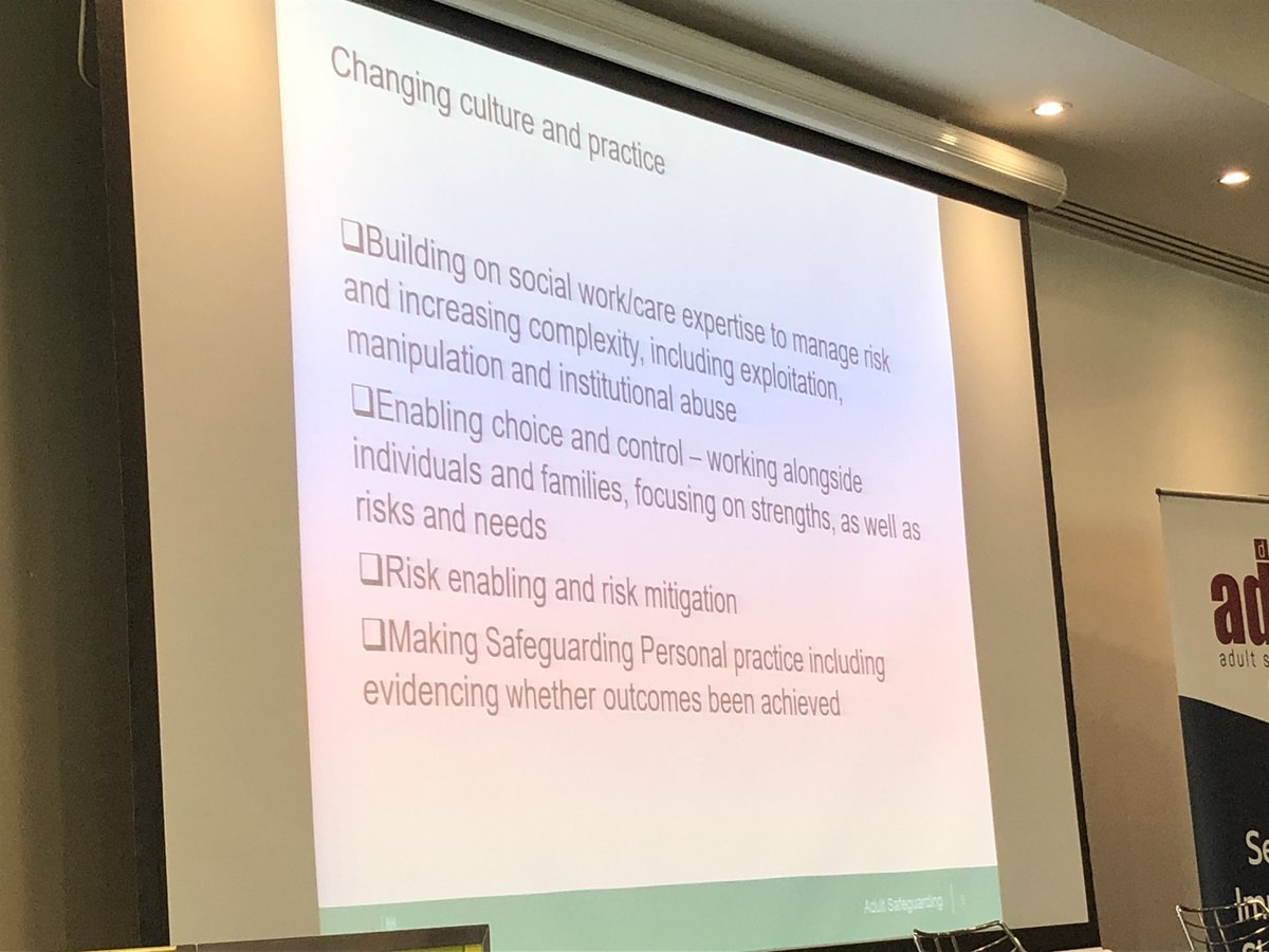 test Twitter Media - Rapid overview from @LynRomeo_CSW on the changing policy context and evolving practice culture in which safeguarding operates. @NWADASS https://t.co/PKGzgpntEO