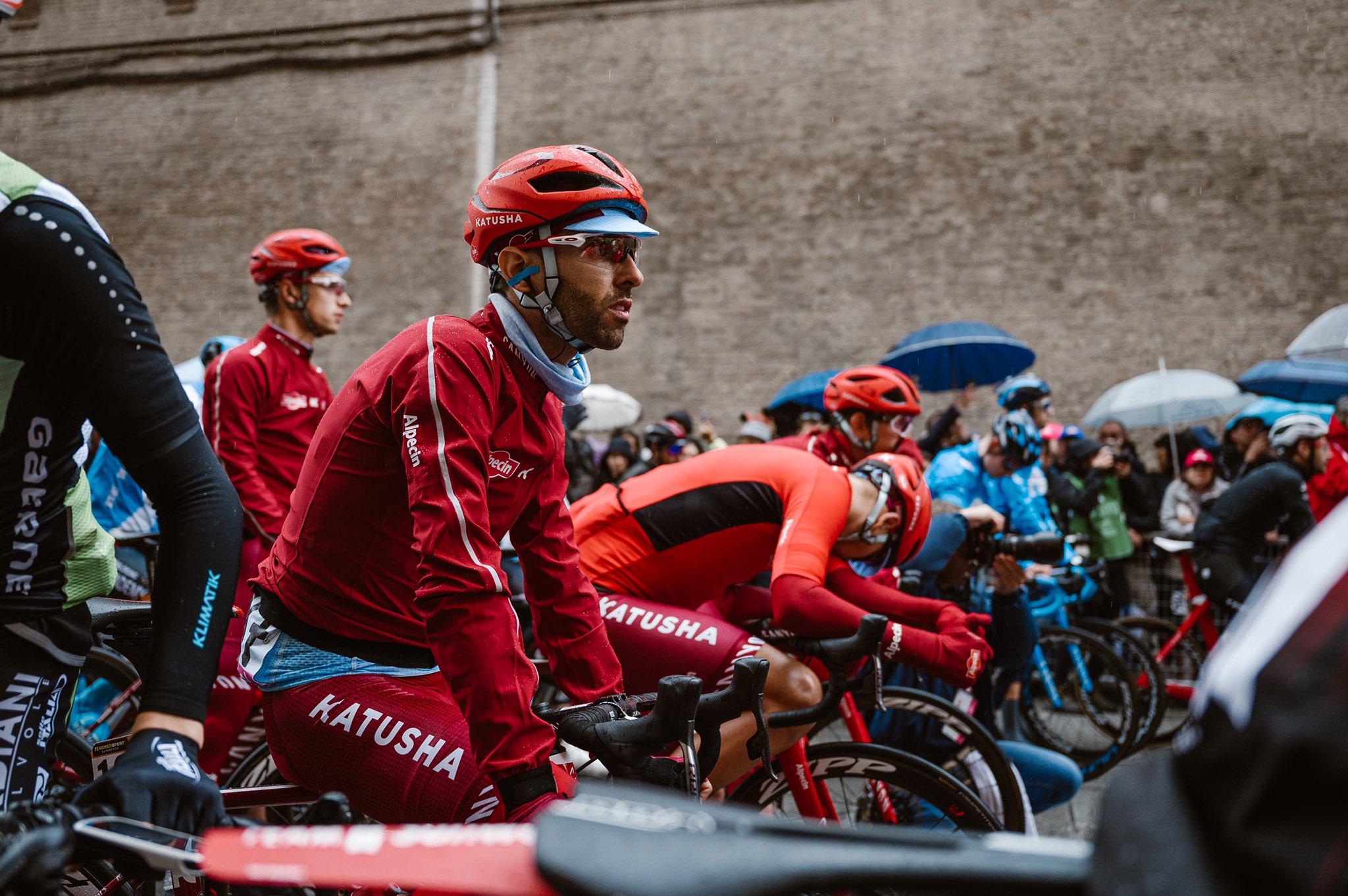 Dani Navarro durante una etapa del presente Giro (Foto: Team Katusha).