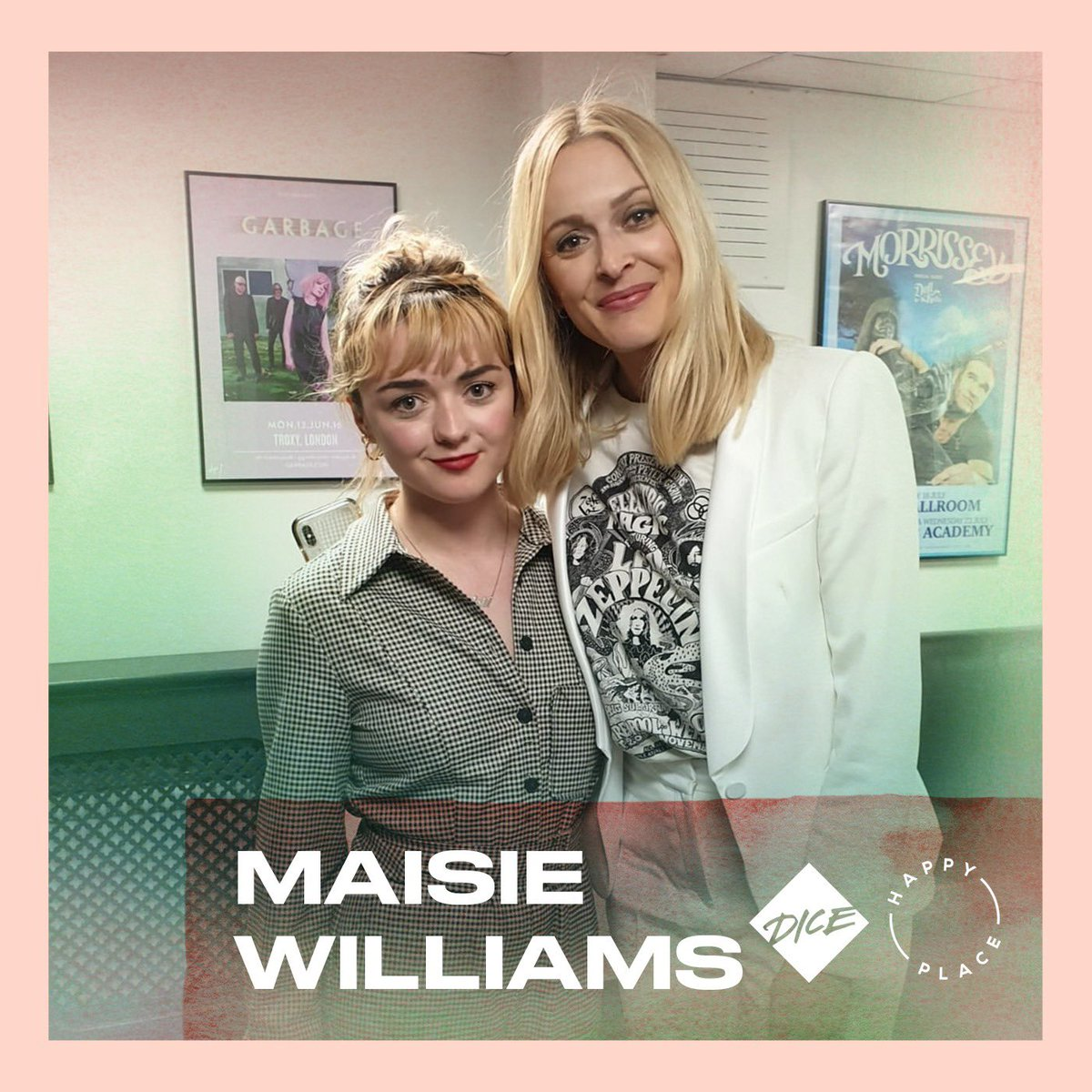 A brand NEW series of happy Place starts today with the magnificent ⁦@Maisie_Williams⁩ Available where ever you get your podcasts 💫