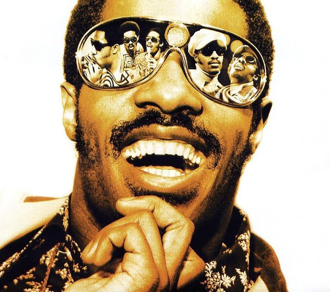 Happy 69th birthday to the legend that is Stevie Wonder