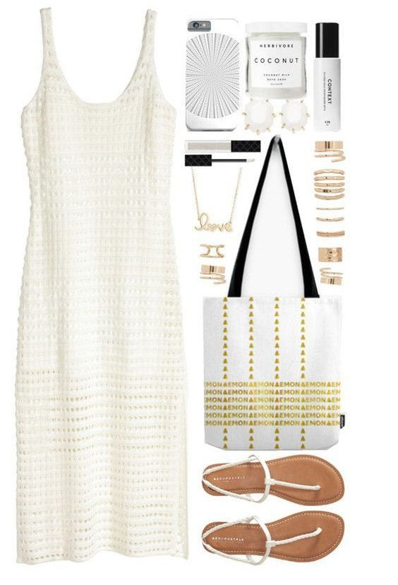 00e47b0963d fashion ootd outfitideas summerstyle whitedress whattowear getthelook. OOTD White  Midi Dress ...