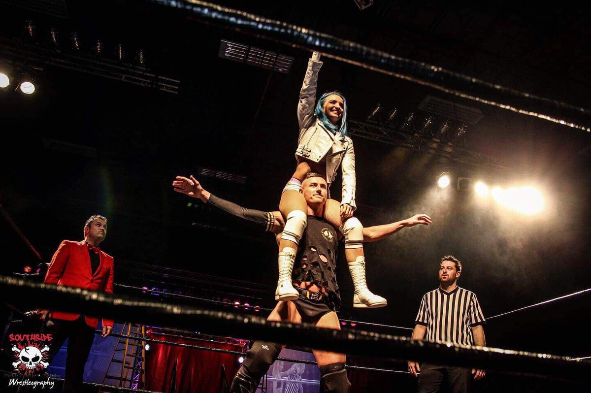 Great wins for @SeanKustom & @XiaBrooksideWWE on Saturday . Sean is now Mr MITB - does @tachimukau_irie need to worry ?