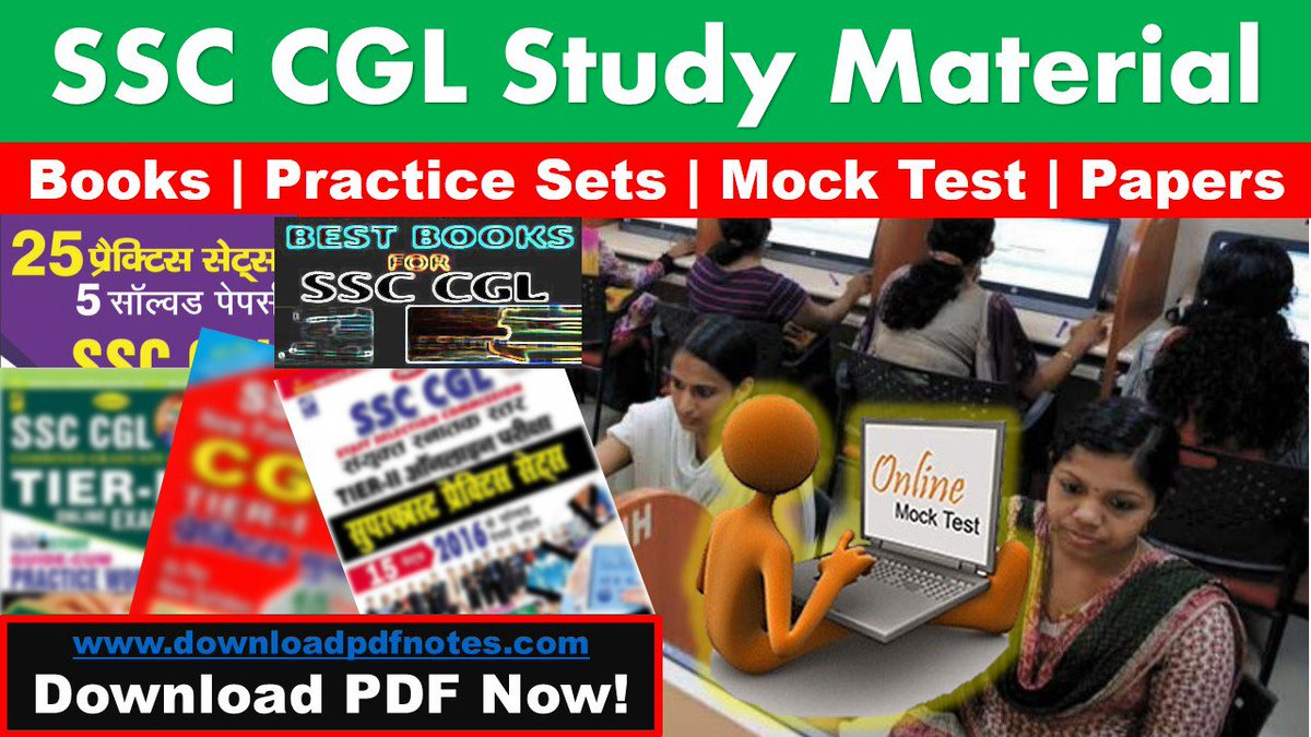 PDF] SSC CGL Preparation Latest Study Material | Syllabus | Books