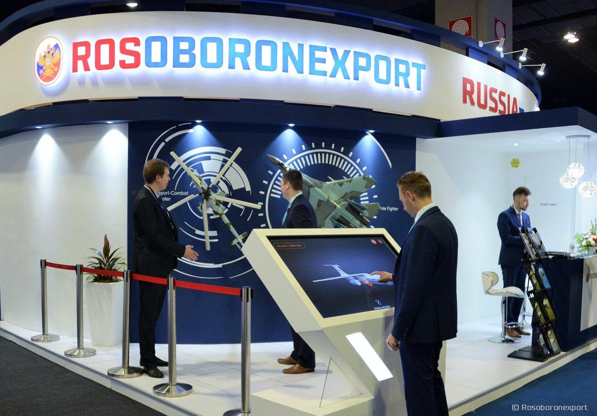 """Tập đoàn xuất khẩu vũ khí của Nga """"ngập"""" trong các đơn hàng"""