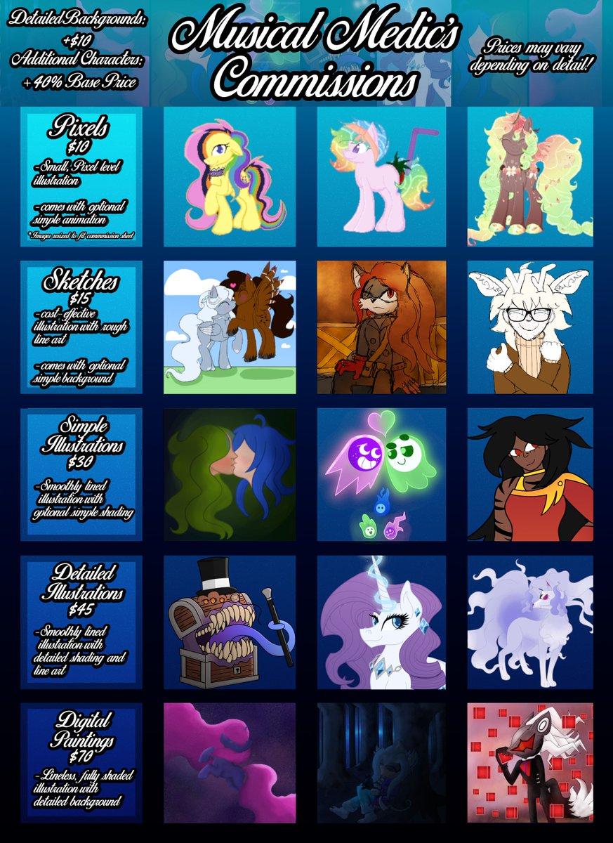 mlpcommissions hashtag on Twitter