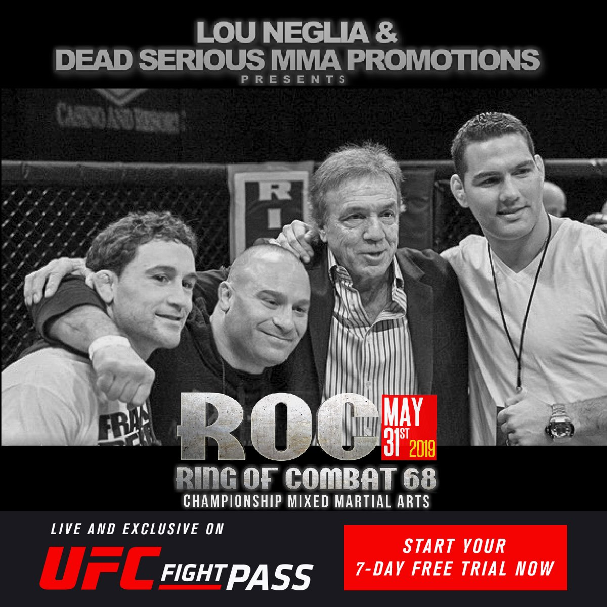 Every story has a beginning, and ROC is proud to have been there at the start for @MattSerraUFC, @FrankieEdgar, @chrisweidman, and over 130 other UFC fighters  Tune in LIVE to @UFCFightPass on MAY 31 to witness the Future of Fighting compete at #ROC68  http://UFCFightPass.com