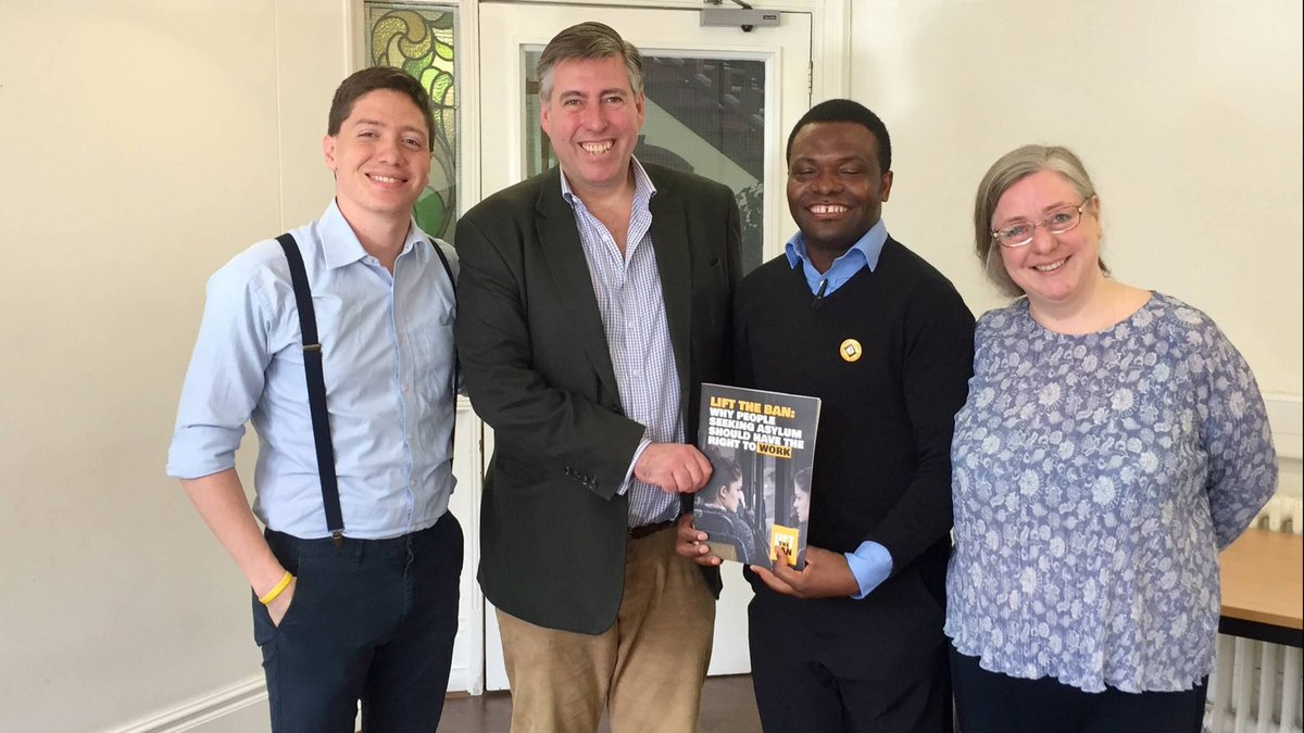 A pleasure to meet with Sir Graham Brady over the weekend for a detailed discussion on #LiftTheBan and the merits of allowing people seeking asylum to work.  Thank you for your time! @AltSaleCons
