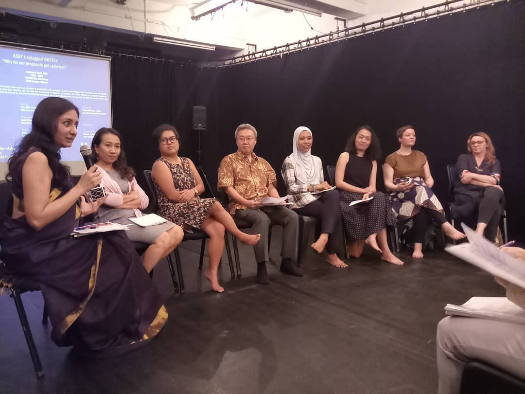 Why do grant proposals get rejected? What do funders look out for in applications? 7 managers of grant programmes from major funding organisations discussed about it with over 50 artists & cultural practitioners in #Malaysia at #ASEFunplugged https://culture360.asef.org/magazine/asef-unplugged-kuala-lumpur-why-do-our-proposals-get-rejected-key-messages/…