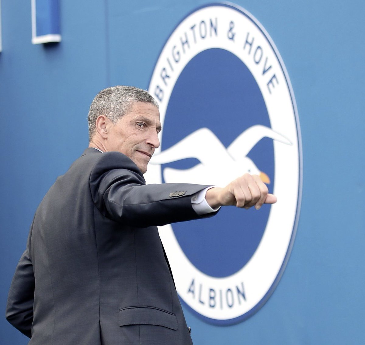 A sad day. Chris Hughton rescued Brighton from a Championship relegation fight & delivered us promotion & survival for 2 seasons in the Premier League, and an FA Cup semi final. His achievements will never be forgotten. A great manager, and an outstanding person 🙏🏽 #bhafc