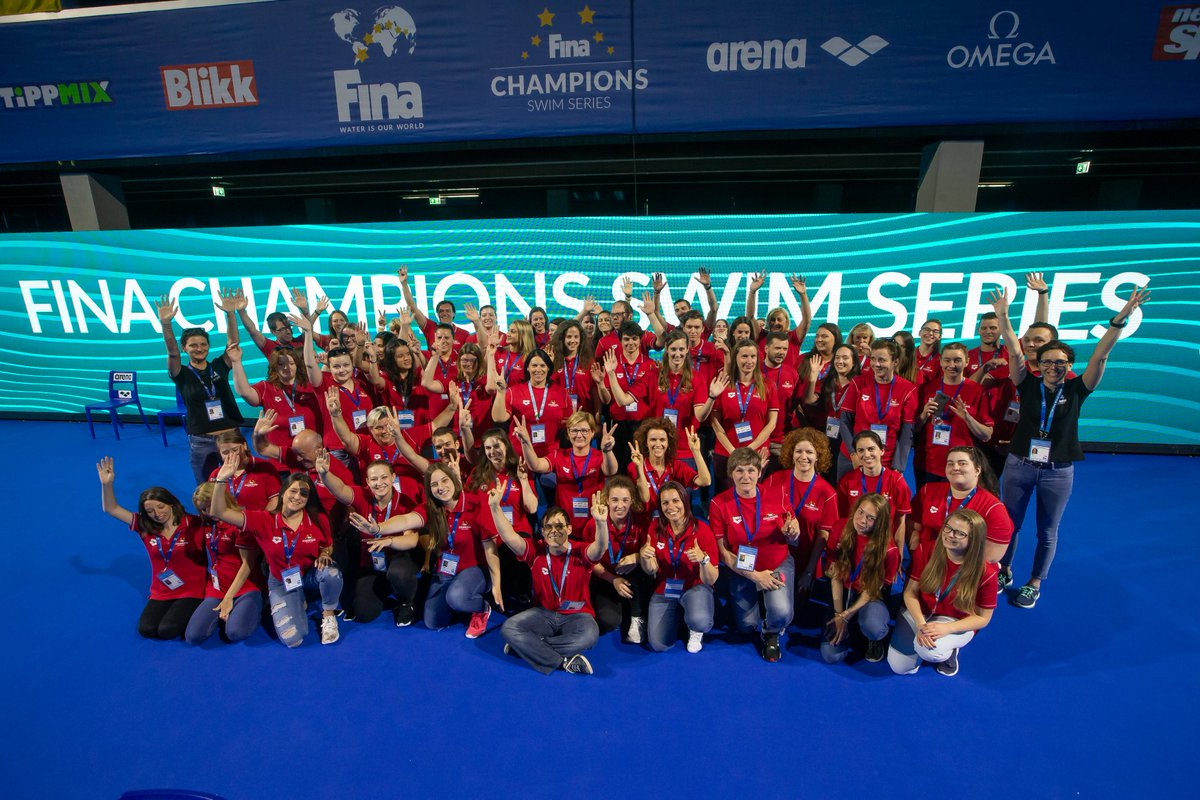 Thanks BUDAPEST!! Next stop, Indianapolis! #CSS19 #Swimming