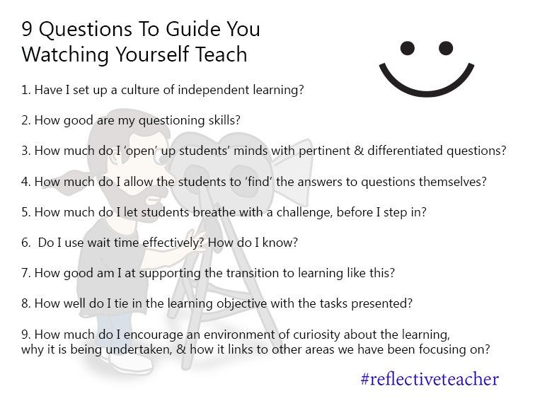 RT <a target='_blank' href='http://twitter.com/TeachThought'>@TeachThought</a>: 9 Questions To Reflect Critically On Your Own Teaching <a target='_blank' href='https://t.co/FSMuqI2nMf'>https://t.co/FSMuqI2nMf</a> <a target='_blank' href='https://t.co/BRAeHFnSuW'>https://t.co/BRAeHFnSuW</a>