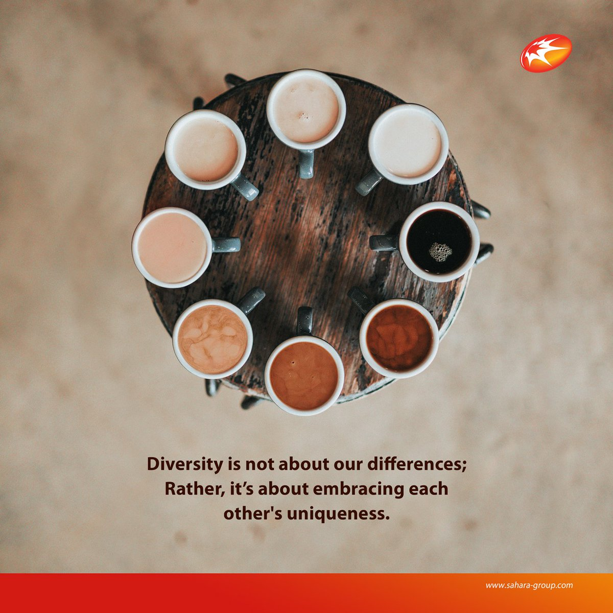 #DiversityMonth #MondayMotivation   #Diversity is not about our differences; Rather, it's about embracing each other&#39;s uniqueness.  #WeAreSahara  #BringingEnergyToLife <br>http://pic.twitter.com/rxdmDpB7dq