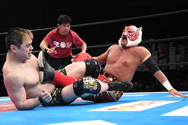 "NJPW: ""Best of the Super Jr. 26"" Día 1 Cae Dragon Lee, gana Titán 3"