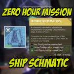 Image for the Tweet beginning: Zero Hour Ship Schematic -