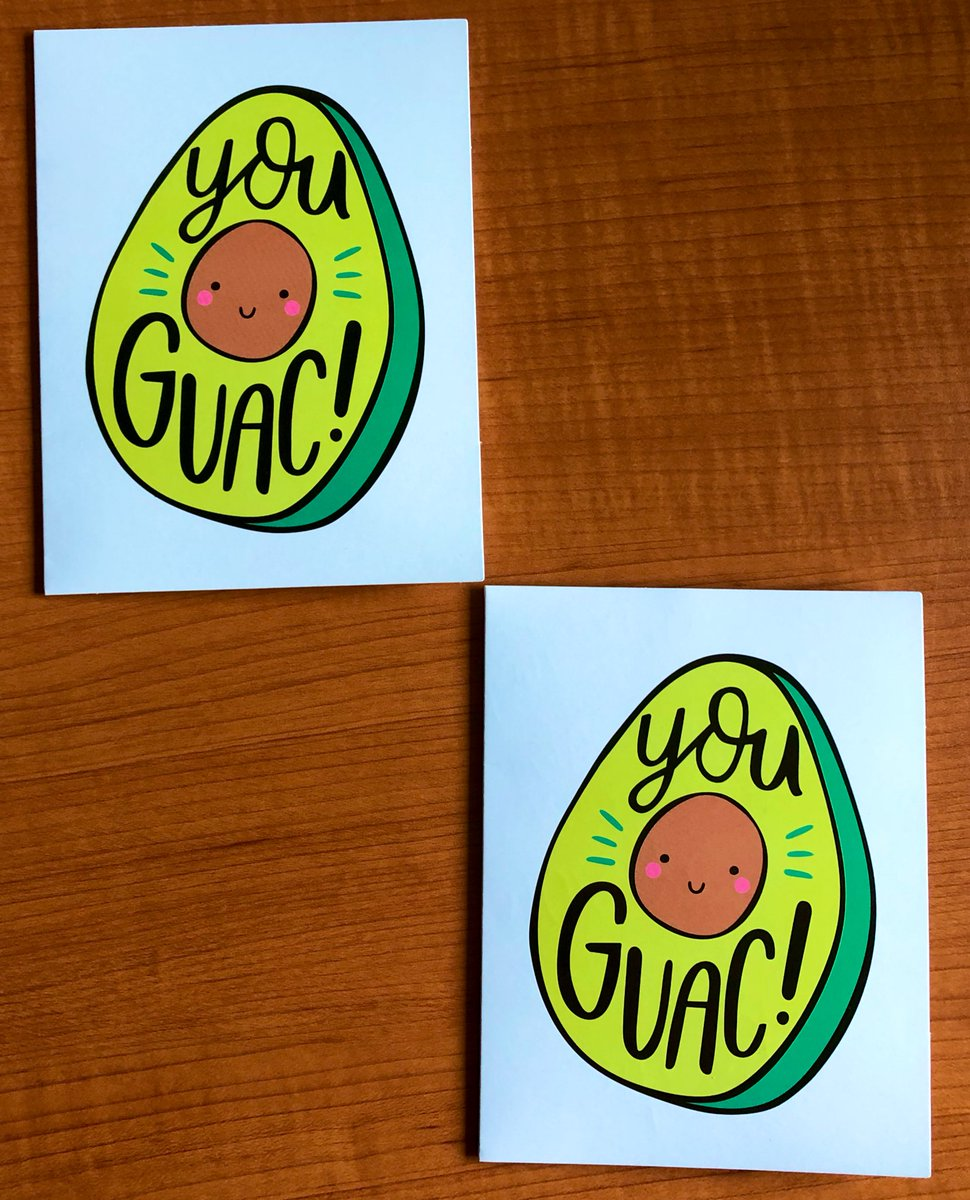 Two notes of appreciation from two different students in two different grades. They clearly know my brand. ❤️🌮🥑 <a target='_blank' href='https://t.co/1UgIkYlkB5'>https://t.co/1UgIkYlkB5</a>