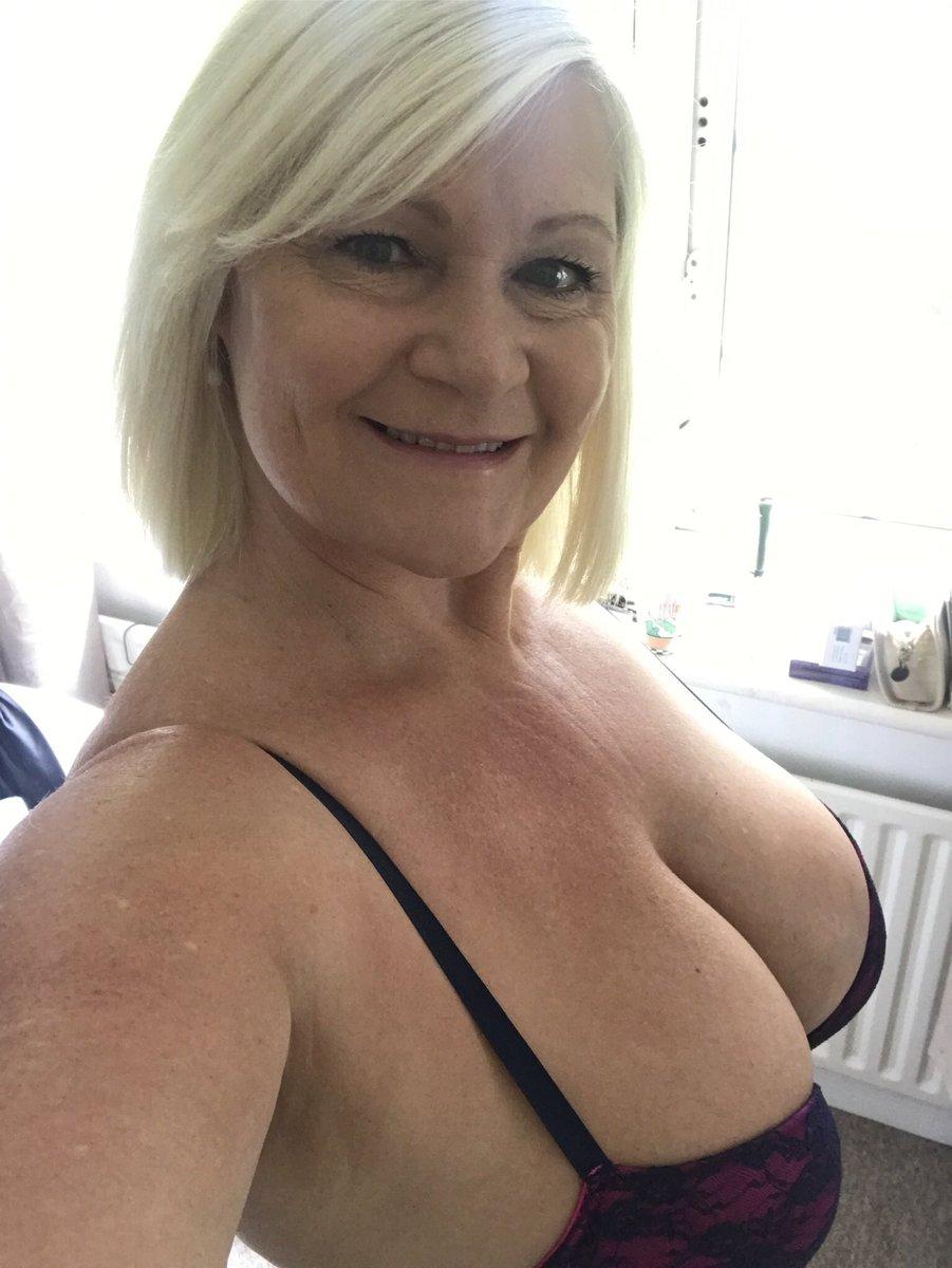 Blonde hottie babe blowing
