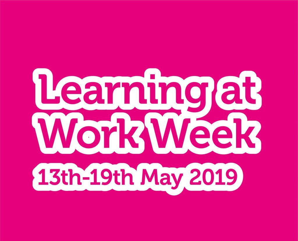 Happy #LearningAtWorkWeek folks!