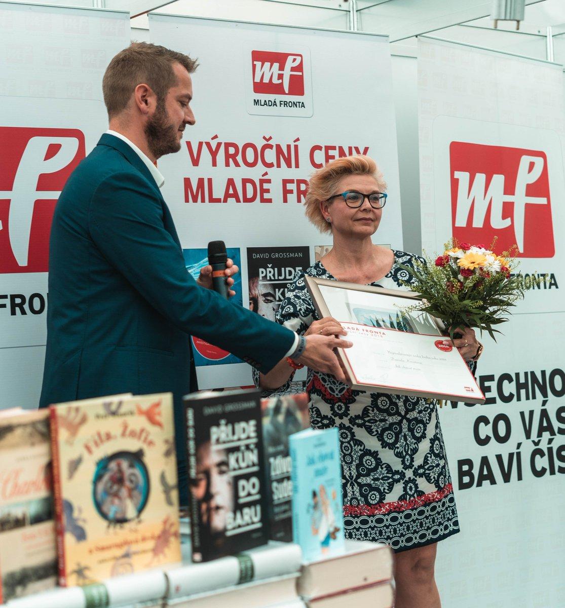 test Twitter Media - Autorkou nejprodávanější knihy roku 2018 je pražská advokátka JUDr. Daniela Kovářová. Cenu nakladatelství Mladá fronta získala za svoji v pořadí již 14. knihu, která je ironickým pohledem nazvaným Jak chovat muže aneb manuál pro otrlé. https://t.co/xuvsePLdMy Gratulujeme! 👏 https://t.co/7RVXw1fuDw