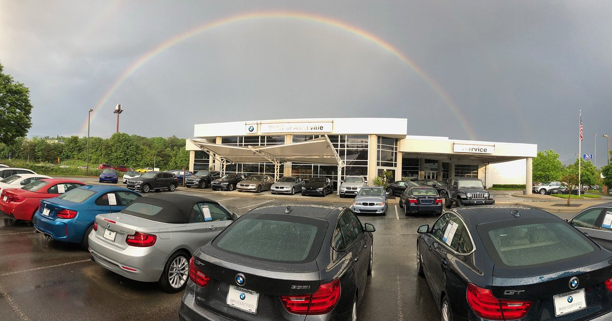 Asheville Car Dealerships >> Bmw Of Asheville On Twitter This Beautiful Rainbow